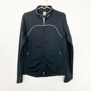 Nike Fit Dry Full Zip Track Jacket Black #2803